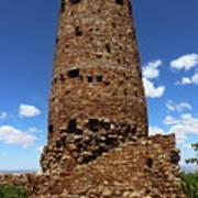 Desert View Watchtower At Grand Canyon Art Print