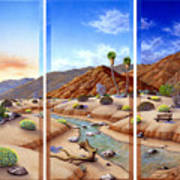 Desert Vista Art Print by Snake Jagger