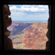Desert Watchtower View Grand Canyon  Art Print