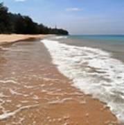 Deserted Shore Of The Island Of Tioman Art Print