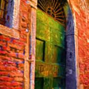 Deserted Venice  Art Print