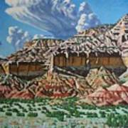 Ghost Ranch New Mexico Art Print