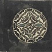 Design For A Brooch , Carel Adolph Lion Cachet, 1874 - 1945 Art Print