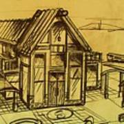 Design Sketch  Art Print