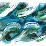 Design Waves Art Print