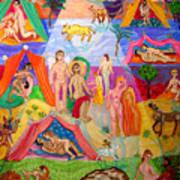 Desire In The Desert Art Print