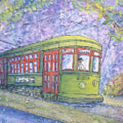Desire Street Streetcar Art Print