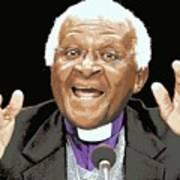 Desmond Tutu Canvas Print Canvas Art By Wbk