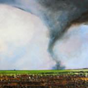 Desolate Tornado Art Print