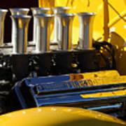 Desoto Firedome Eight Engine Art Print