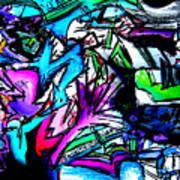 Destination Unknown Neon Art Print