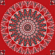 Destiny Mandala Art Print
