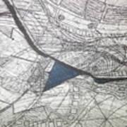 detail, ''Blues'' Art Print