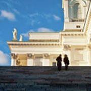 Detail Of Helsinki Cathedral Art Print