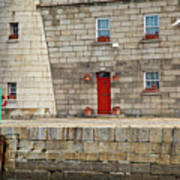 Detail Of Howth Lighthouse Art Print