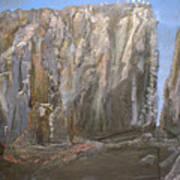 Detail Of Landscape 1/3 Art Print