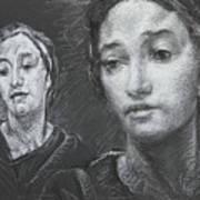 Detail Of Stressed Art Print