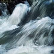 Detail Of Wild Rapid Water Art Print