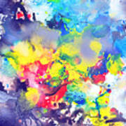 Detail The Emergence Of Color Art Print
