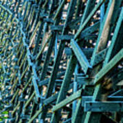 Detail View Of The Kinsol Trestle Art Print