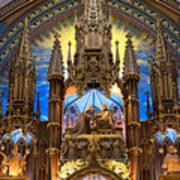 Details Notre Dame Montreal Art Print