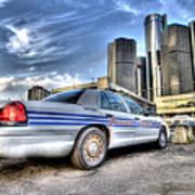 Detroit Police Art Print