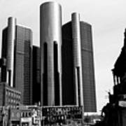Detroit Rc From Congress Art Print