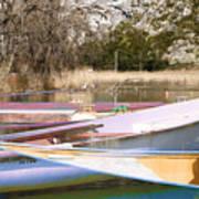 Deux Canoes Art Print