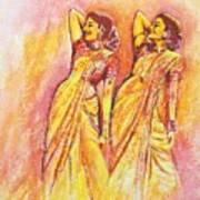 Devdas Dance Art Print