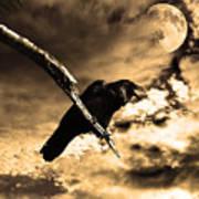 Devil In The Clouds Art Print