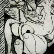 Devils Horse Art Print