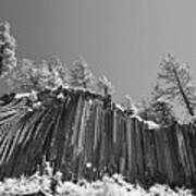 Devil's Postpile - Frozen Columns Of Lava Print by Christine Till