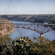 Devils River Hi Bridge Art Print