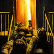 Devil's Stairway Art Print