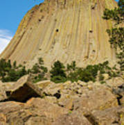 Devils Tower Four Art Print