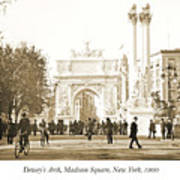 Dewey's Arch Monument, Madison Square, New York, 1900 Art Print