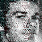 Dexter Blood Splatter Mosaic Art Print