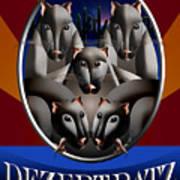 Dezert Ratz Poster Art Print