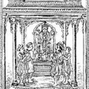 Dhanvantari, God Of Ayurvedic Medicine Art Print