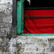 Dharamsala Window Art Print