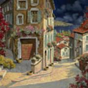Di Notte Al Mare Art Print