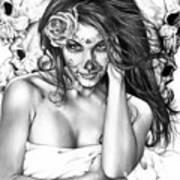 Dia De Los Muertos 2 Art Print