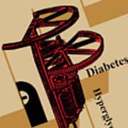 Diabetes No. I Art Print