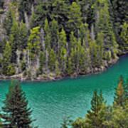 Diabolo Lake North Cascades Np Wa Art Print
