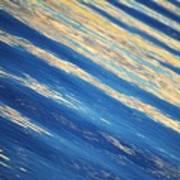 Diagonal Waters Art Print