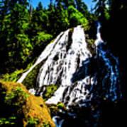 Diamond Creek Falls Art Print