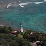 Diamond Head Lighthouse I Art Print