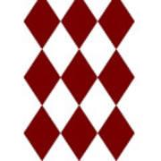 Diamond Poker Card Game Symbol Abstract Modern Art On T-shirts N Pod Navinjoshi Fineartameririca Art Print