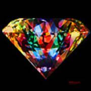 Diamonds Everywhere Art Print