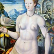 Diane De Poitiers (1499-1566) Art Print
